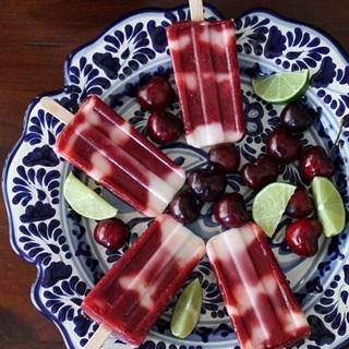 Cách làm Kem chanh cherry