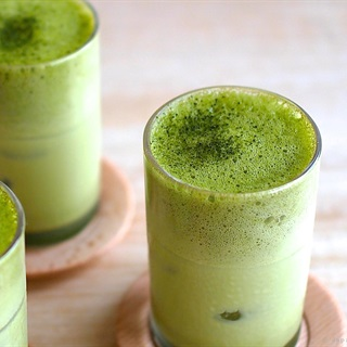 Cách làm Latte sữa trà xanh