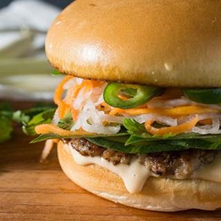 Cách làm Hambuger kẹp thịt