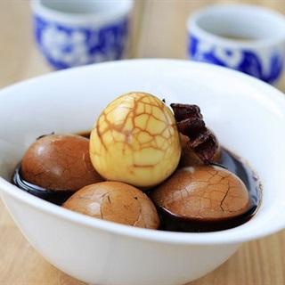 Cách làm Trứng trà Trung Hoa