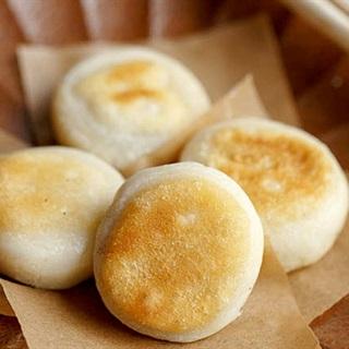 Bánh gạo chiên nhân mè đen