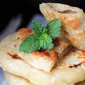 Bánh rán nhân thịt kiểu Hoa