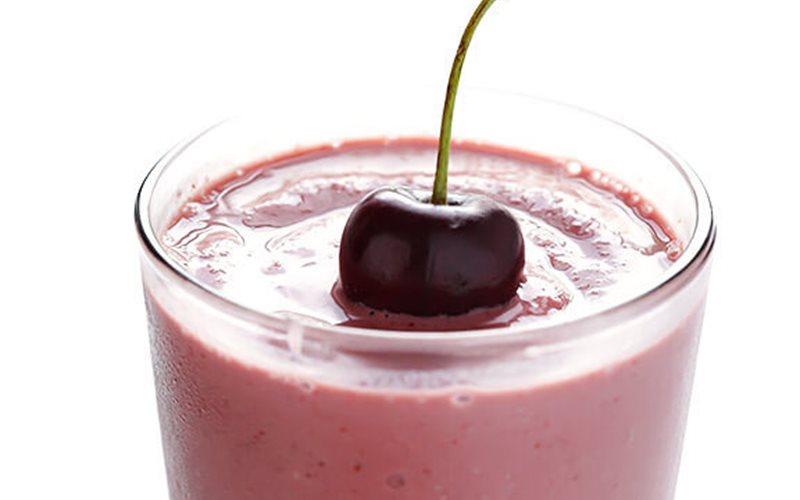 Cách làm Sinh tố cherry yến mạch