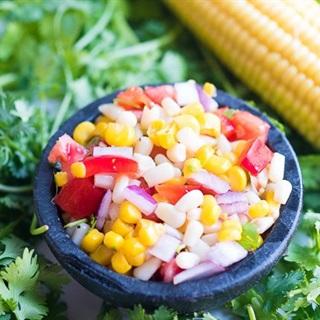 Salad bắp ngọt