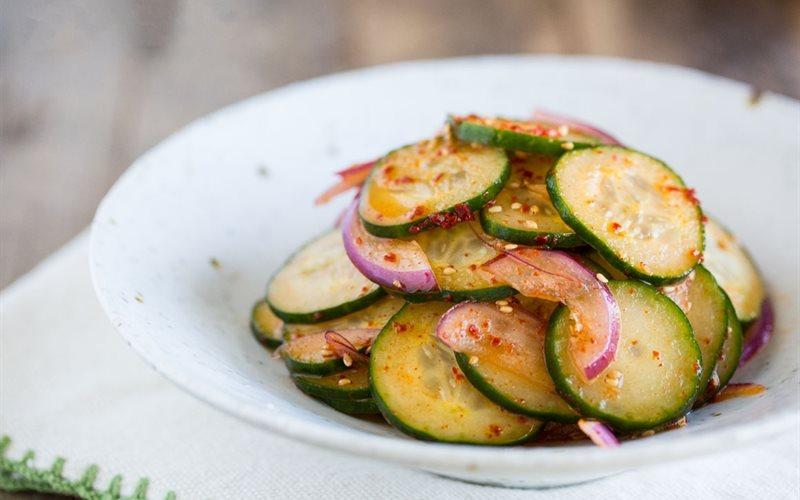 Cách làm Salad dưa leo nhanh gọn