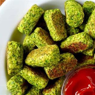 Cách làm Bánh bông cải xanh nướng giòn