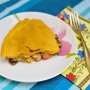 Bánh nướng nhồi thập cẩm