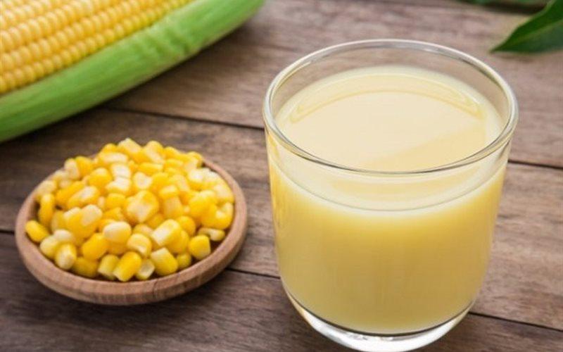Cách làm sữa bắp lá dứa