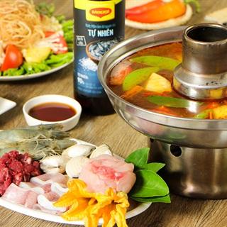 Cách nấu Lẩu Thái Hải Sản chua cay đãi tiệc cuối tuần