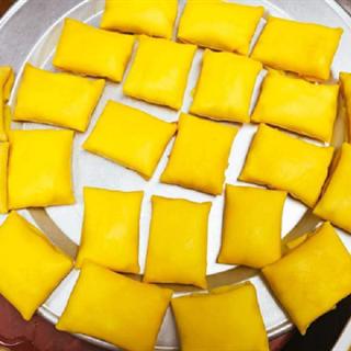 Bánh crepe sầu riêng béo