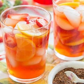 Cách làm Trà Dâu thơm dịu nhẹ vị ngọt mát giúp giải nhiệt