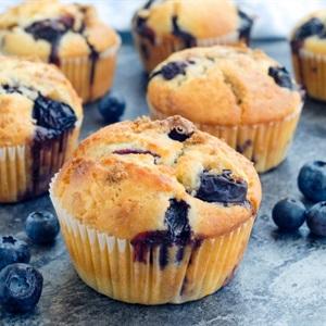 Bánh muffins việt quất yogurt