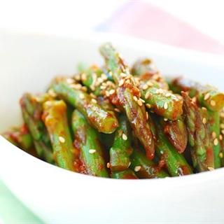 Cách làm Salad măng tây kiểu Hàn