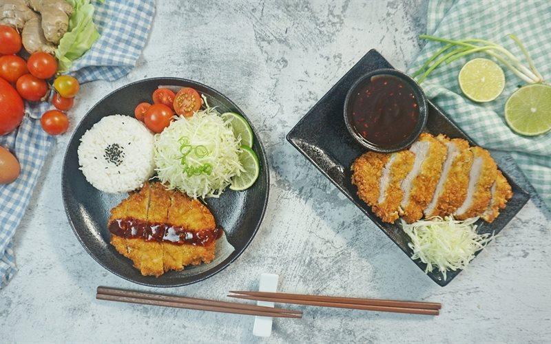 Cách Làm Tonkatsu - Thịt Heo Chiên Xù Kiểu Nhật