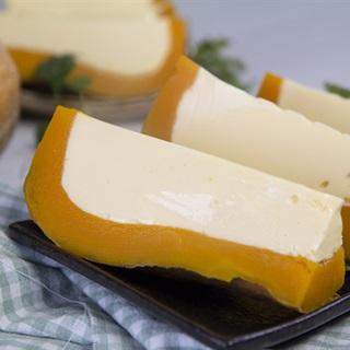 Cách làm Bánh Flan Bí Đỏ từ trứng và sữa tươi, cực đơn giản
