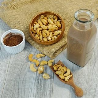 Cách làm sữa hạt điều chocolate