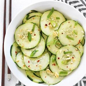Salad dưa leo kiểu Thái Lan