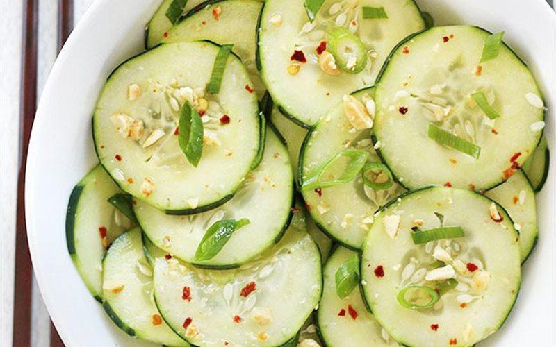 Cách làm Salad dưa leo kiểu Thái Lan