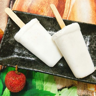 Cách làm kem vải ngọt mát