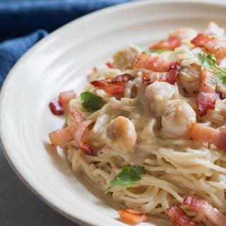 Cách làm Mì Ý sò điệp sốt phô mai