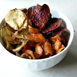 Cách làm snack rau củ giòn tan