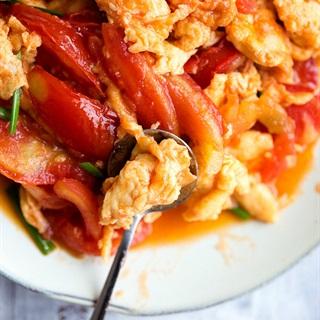 Cách làm Trứng Xào Cà Chua -món ngon dễ làm giàu dinh dưỡng