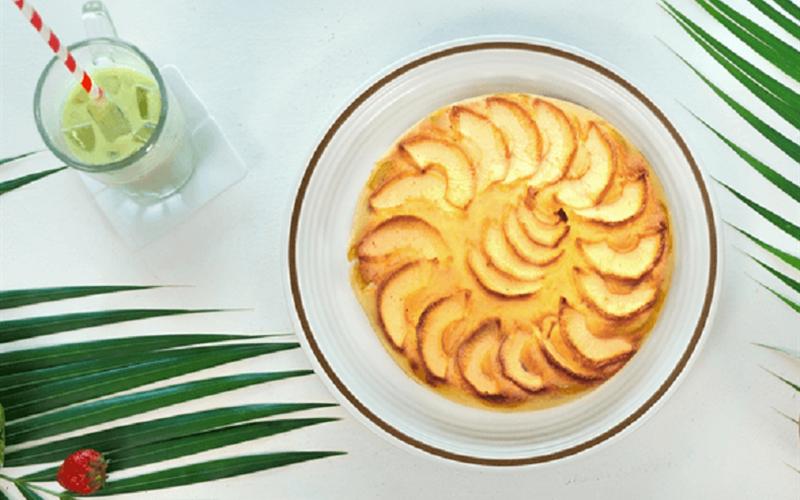 Cách làm bánh táo nướng bằng nồi cơm điện