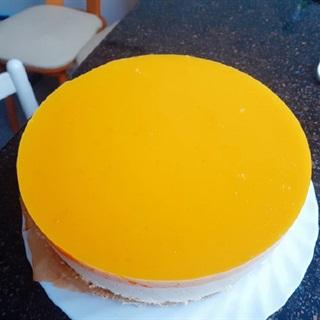 Cách làm cheesecake xoài không cần lò nướng