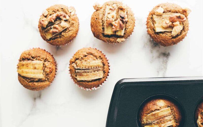 Cách Làm Bánh Cupcake Yến Mạch Chuối | Bổ Dưỡng