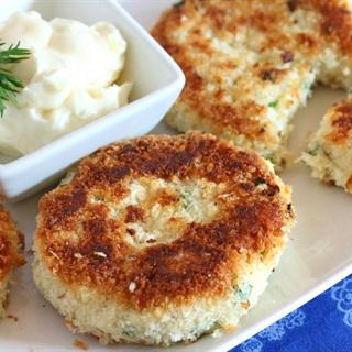 Cách làm Chả cá khoai tây