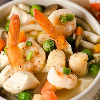 Cách nấu canh hải sản nấm