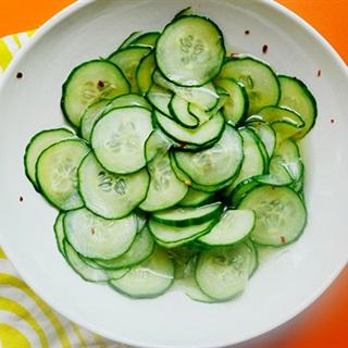Cách làm Salad dưa leo ngâm cay