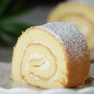 Cách Làm Bánh Bông Lan Cuộn Kem | Phủ Đường Mịn