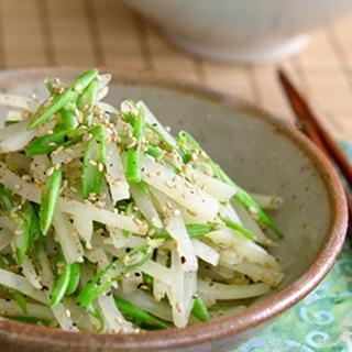 Cách làm salad khoai tây đậu đũa