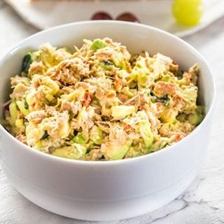 Cách làm Salad cá ngừ bơ