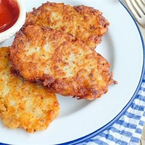 Bánh khoai tây bào