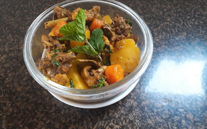 Cách làm vịt nấu cà ri thơm ngon