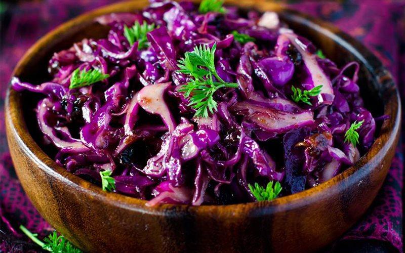 Cách làm salad rau củ trộn dầu mè