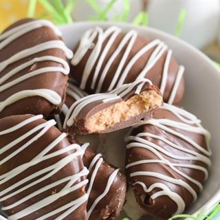 Cách làm Bánh bơ đậu phộng phủ chocolate