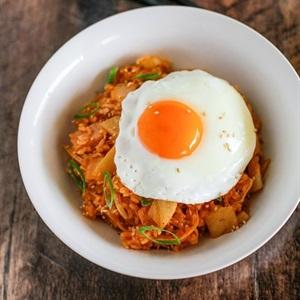 Cơm chiên Kimchi Hàn Quốc