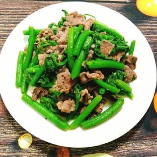 Cách làm rau bí xào thịt bò