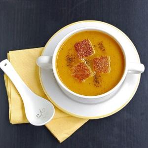 Soup cà rốt béo mịn