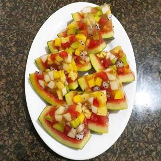 Cách làm thạch trái cây Thái Lan đơn giản