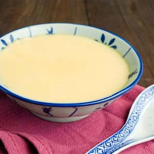 Bánh flan trứng đơn giản