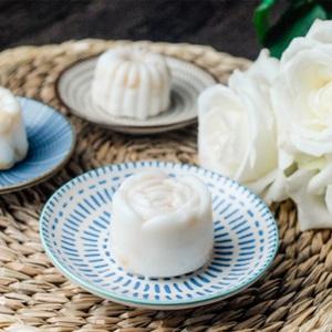 Pudding dừa đậu xanh