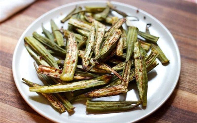 Cách làm Đậu Bắp Nướng olive ngọt mát beo béo giòn sựt