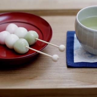 Cách làm bánh nếp Nhật Bản - Hanami Dango