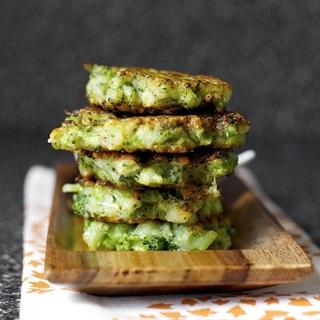 Cách làm Bánh bông cải xanh chiên