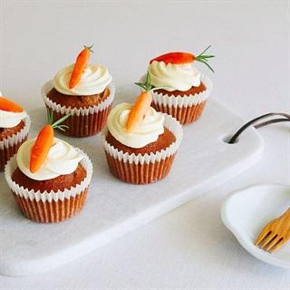 Cách làm Bánh Muffin cà rốt