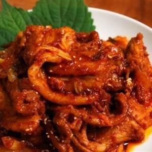Thịt heo xào cay Hàn Quốc